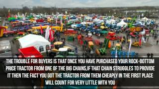 Agricultural Machinery Dealerships - The future!