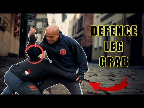 How to defence leg grab in street fight