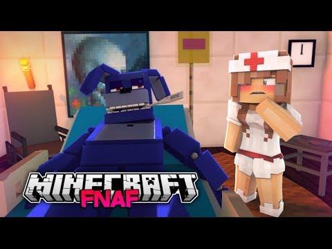 Minecraft FNAF: Bonnie Gets Sick (Minecraft FNAF Roleplay)