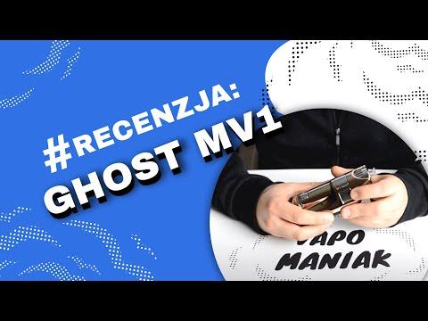 Ghost MV1 Vaporizer (waporyzator) Video-Recenzja PL – VapoManiak [1080p]