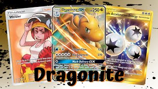 Dragonite Sky Judgement Unified Minds Deck, PTCGO Gameplay