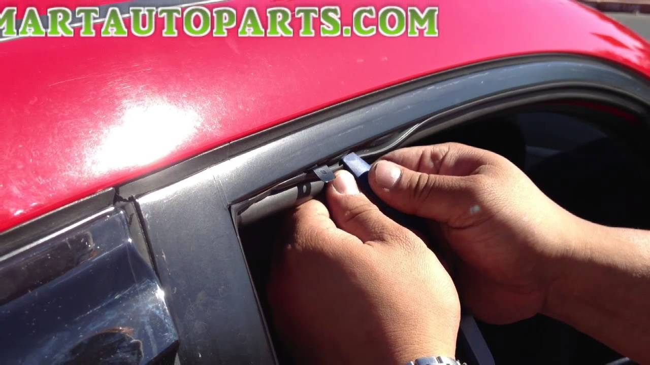 Window Visor Installation Honda Civic 2006 2011 Sedan