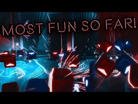 The BEST Beat Saber level so far!