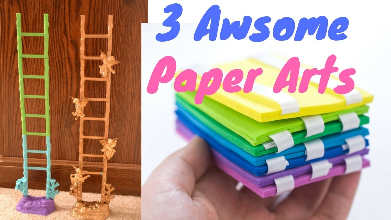 3 Amazing Paper Arts You Can Try At Home