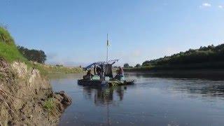 Сплав на плоту по реке Десна 2014 год(В 2014 году мы продолжили наш маршрут в Черниговской обл. от с.Мезин до с.Малое Устье. Этот участок считаю одни..., 2015-12-24T19:49:56.000Z)