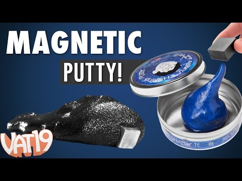 Magnetic Thinking Putty is Crazy Awesome!