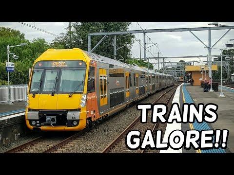 Sydney Trains Galore!