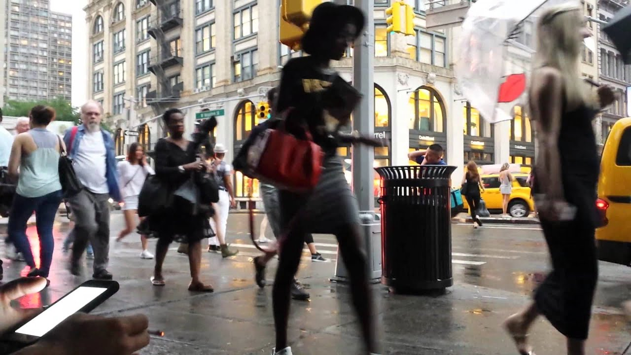 how to make moving people vanish in video