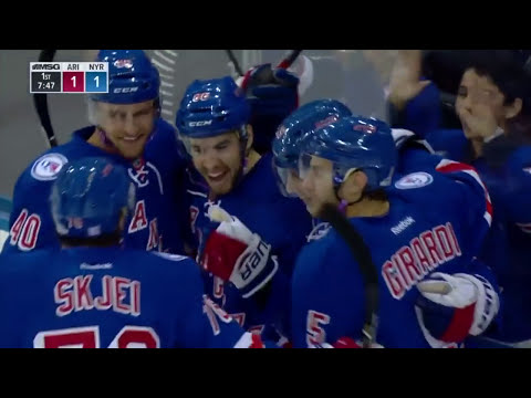 EVERY NYR GOAL '16-17: OCTOBER