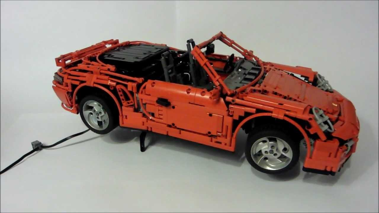 lego porsche 911 997 turbo cabriolet pdk by sheepo youtube. Black Bedroom Furniture Sets. Home Design Ideas