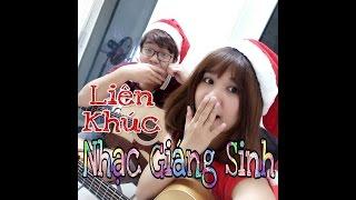 Liên khúc nhạc Giáng Sinh - Vợ Chồng Tiến Nguyễn & Phương Dung Socola.
