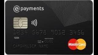 Урок как заказать банковскую карту #EPAYMENTS как оплатить экспресс доставку от #ZaRaBaRaHOROSHO
