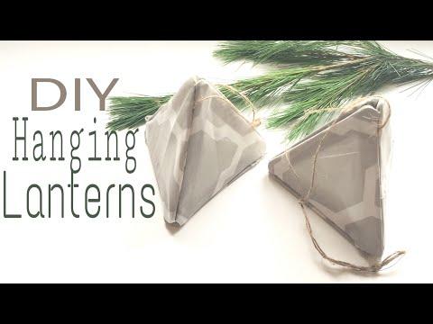 DIY Hanging Lanterns | Dollar Tree DIY