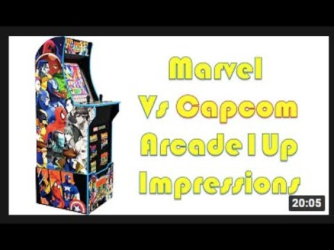 Marvel VS Capcom ARCADE1UP Unboxing + Review Part 1 from July Diaz