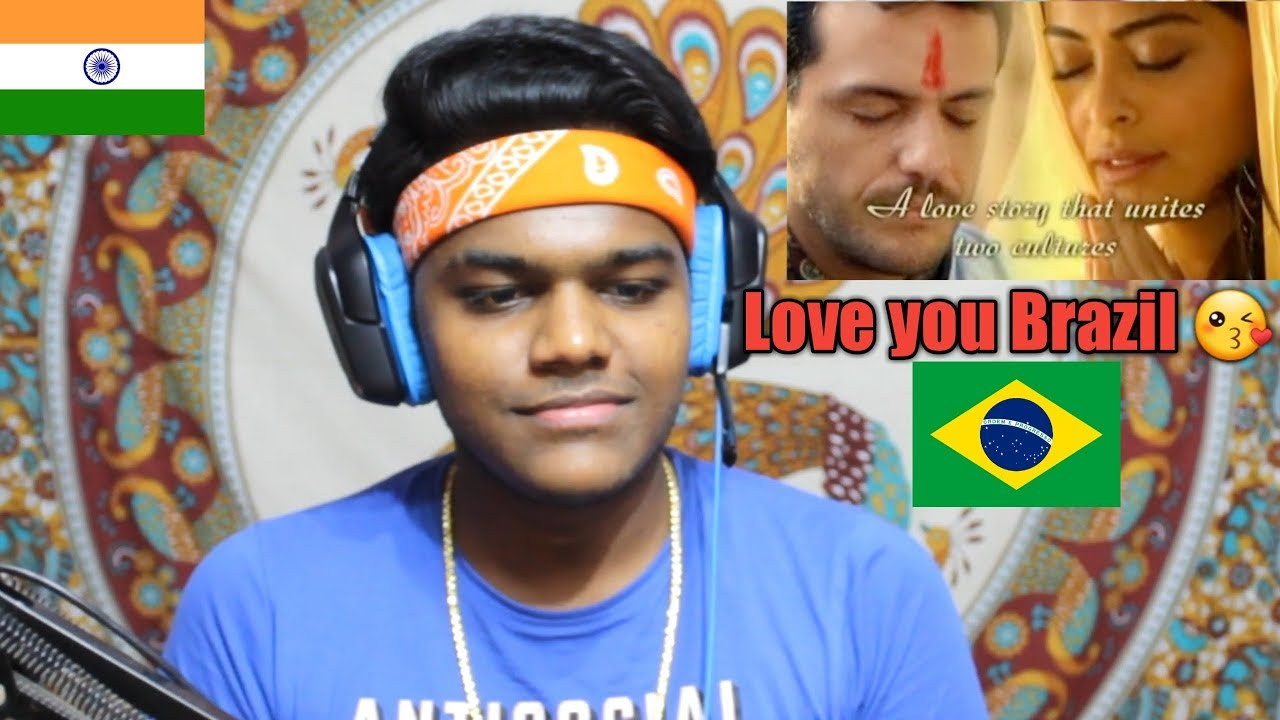 INDIAN REACTS TO Brazilian Soap Opera India a Love Story - Caminho das  Índias