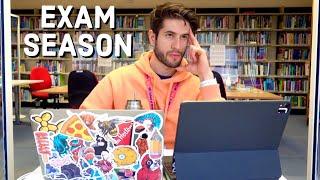 a productive med school study vlog