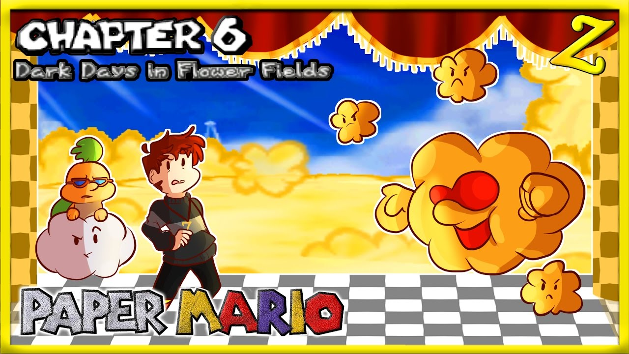 Dark days in flower fields paper mario chapter 6 youtube dark days in flower fields paper mario chapter 6 mightylinksfo