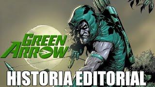 Green Arrow: Historia Editorial y el Arco del cazador, de Mike Grell.