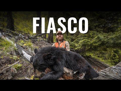 FIASCO – A Montana Spring Black Bear Hunt