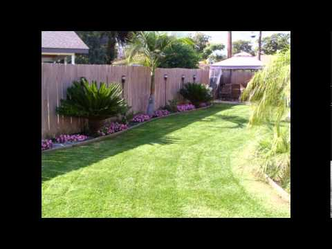 Gardening & Landscaping : Small Backyard Landscaping Ideas ... on Landscaping Ideas For Rectangular Backyard  id=12956