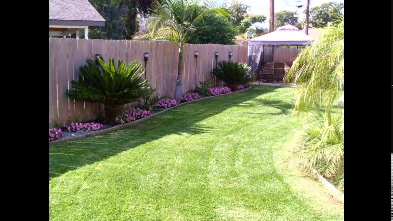 Small Backyard Ideas Small Backyard Landscaping Ideas Youtube