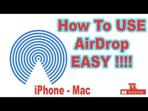 How to use AIRDROP very easy iPhone to Mac tutorial | by TutoTech