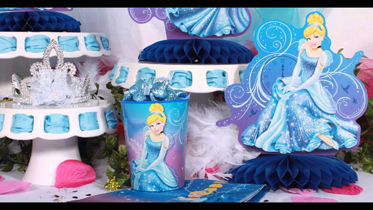 Beautiful Cinderella Birthday Party Decorations Ideas Youtube