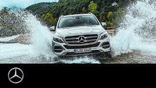 With the GLE in Albania. Offroad Tracks Part I - Mercedes-Benz original(In the Albanian Mountainside the Mercedes-Benz GLE demonstrates its disposition to rubble. Mud, Rocks and a river bed are also part of the program., 2015-12-18T18:36:15.000Z)