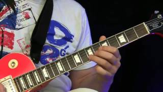 Guitar Lesson - Santana Style ( beginners )
