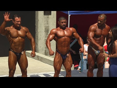 Tony Huge Takes 2nd Place at Muscle Beach Bodybuilding Contest