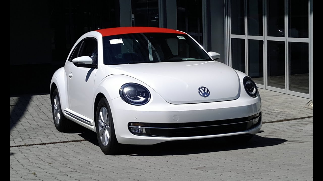Car Wrapping Vw Beetle Red Carbon Roof Wrapping Youtube