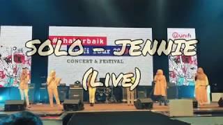 Gambar cover SOLO - JENNIE BLACKPINK (Acapella Live Performance by Bahiyya Haneesa)