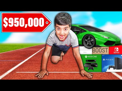 Win The Race, I'll Buy Anything You Want! (TRACK & FIELD CHALLENGER GAMES!)