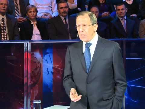 """Интервью С.Лаврова телеканалу """"Россия 1"""""""