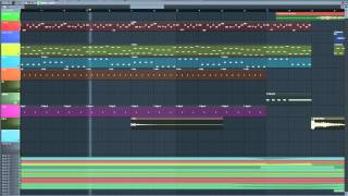 Basshunter dotA Fl studio + FLP Download
