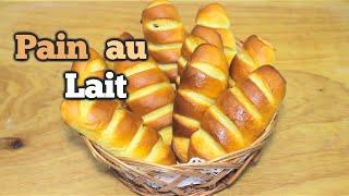 Recette pain au lait et chocolat- طريقة سهلة و جد ناجحة لتحضير فطائر الحليب و الشوكولا