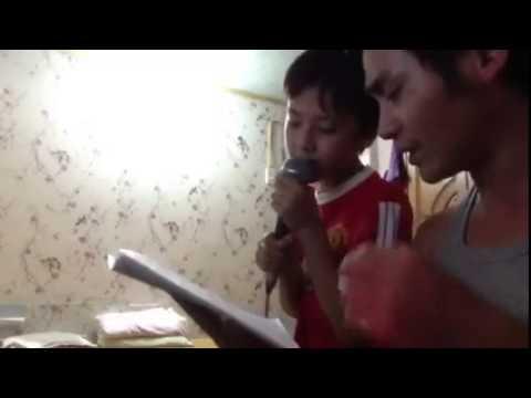 Hương sen dâng bác- hát chèo- Lời: Mai Văn Lạng- Trình bày: bố con anh Nguyễn Duy Luyến