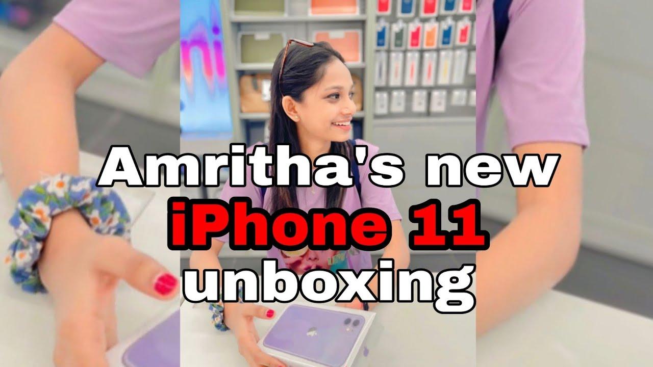 Amritha Amala // Amritha's new iphone unboxing // Amritha Amala new Instagram reels // AMRITHA AMALA