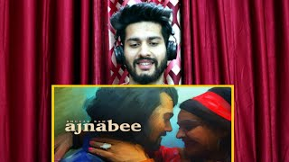 Ajnabee - Bhuvan Bam | Official Music Video | Reaction & Review | Ishan Says