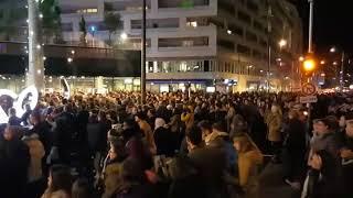Grosse foule à l'ouverture du centre commercial Muse à Metz
