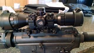 AR-15 SCOPE REVIEW - UTG 3-9X32 1