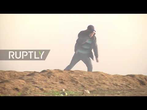 State of Palestine: Dozens injured in Gaza border protests