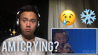 Reaction to Harry Styles- Sign Of The Times Live Lounge (Tears)