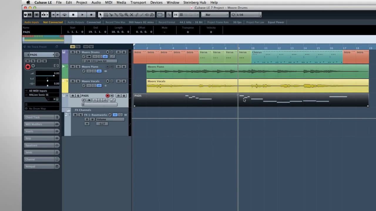Bidule & Cubase - How to build orchestral template from ...