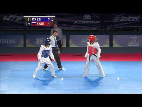 2013 WTF World Taekwondo Championships Final | Female -46kg