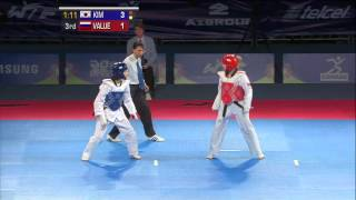 2013 WTF World Taekwondo Championships Final | Female -46kg