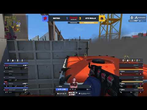 [VOD] Rhyno Esports vs. GTZ Bulls - Final Four OMEN Retake T1