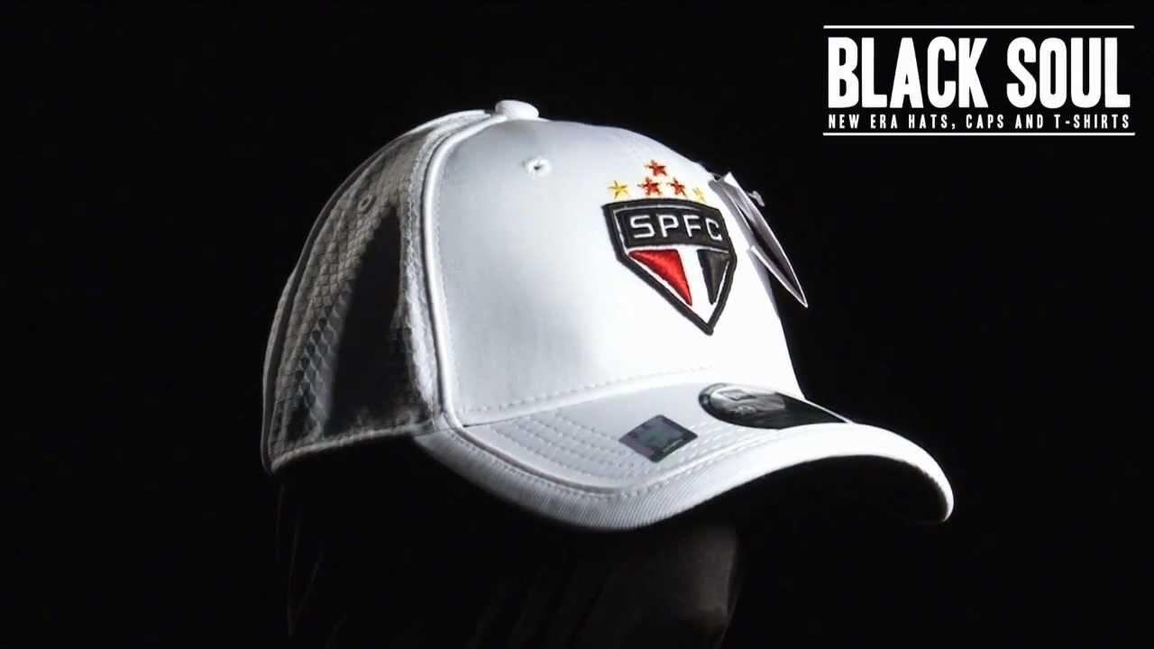Boné New Era 3930 39Thirty aba curva times de futebol São ...