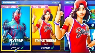 ALL NEW SKINS COMING to Fortnite: Battle Royale! Scoundrel, Jumpshot, Triple threat, Ventura