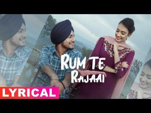 Rum Te Rajaai (Lyrical Video) | Amar Sehmbi | Desi Crew | Latest Punjabi Songs 2019 | Speed Records